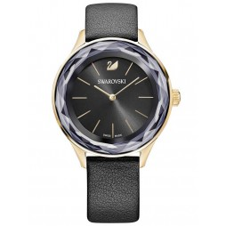 Swarovski Octea Nova Black Strap Watch 5295358