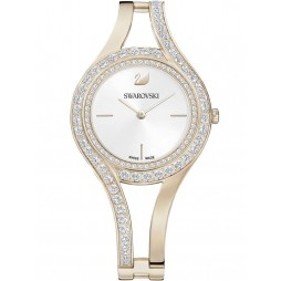 Swarovski Eternal Gold Plated Bracelet Watch 5377563