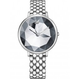 Swarovski Ladies Crystal Lake Grey Watch 5416017