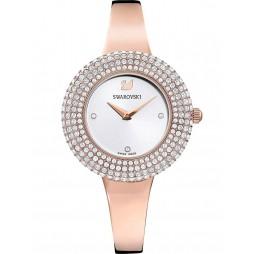 Swarovski Ladies Crystal Rose Rose Gold Tone Bracelet Watch 5484073
