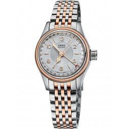 Oris Ladies Big Crown Two Tone Watch 594 7695 4361-07B