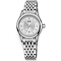 Oris Ladies Classic Automatic Bracelet Watch 561 7650 4031-07B