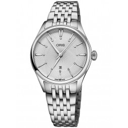 Oris Ladies Diamond Bracelet Watch 561 7724 4051-07 8B