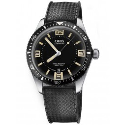 Oris Mens Divers 65 Rubber Watch 733 7707 4064-07B