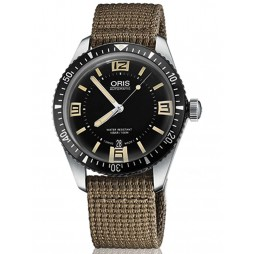 Oris Mens Diver 65 Fabric Watch 733 7707 4064-07 5 20 22