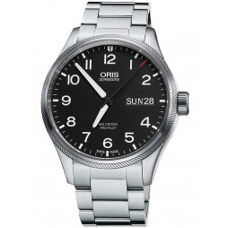 Oris Mens Big Crown ProPilot Big Day Date Bracelet Watch 752 7698 4164-07 8 22 19