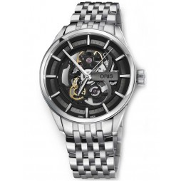 Oris Mens Artix Skeleton Bracelet Watch 734 7714 4054-07 8 19 80