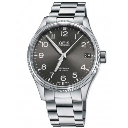Oris Mens Big Crown Automatic Bracelet Watch 751 7697 4063-07B
