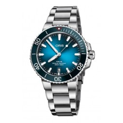 Oris Mens Aquis Clean Ocean Limited Edition Watch 733 7732 4185-SET MB