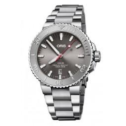 Oris Mens Aquis Date Relief Bracelet Watch 733 7730 4153-07 8 24 05PEB