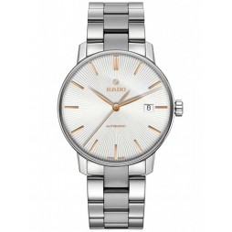 Rado Mens Coupole Classic Automatic Silver and Grey Bracelet Watch R22860023 L