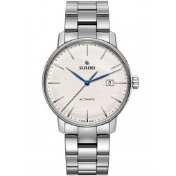 Rado Mens Coupole Classic Automatic Silver and Grey Bracelet Watch R22876013 XL