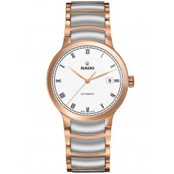 Rado Mens Centrix Two Tone Automatic Bracelet Watch R30036013 L