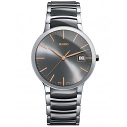 Rado Mens Centrix Ceramic Bracelet Watch R30927132