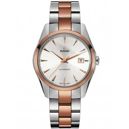 Rado Mens Hyperchrome Two Tone Automatic Bracelet Watch R32980112