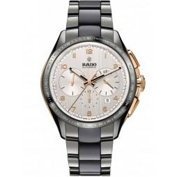 Rado Mens HyperChrome Automatic Chronograph Bracelet Watch R32108102