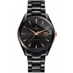 Rado Mens HyperChrome Automatic Black Ceramic Bracelet Watch R32252162