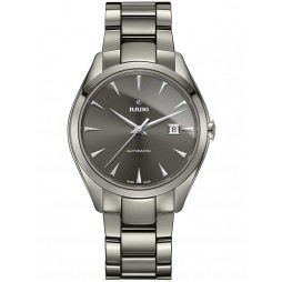 Rado Mens HyperChrome Automatic Grey Ceramic Bracelet Watch R32254302