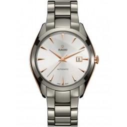 Rado Mens HyperChrome Two Color Ceramic Bracelet Watch R32256012