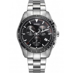 Rado Mens HyperChrome Quartz Chronograph Grey Ceramic and Steel Bracelet Watch R32259153