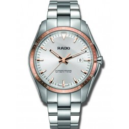 Rado Mens HyperChrome Quartz Two Colour Dial Bracelet Watch R32502103