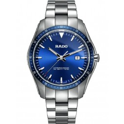 Rado Mens HyperChrome Blue Dial Bracelet Watch R32502203