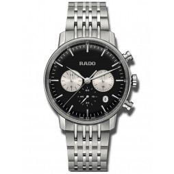Rado Mens Coupole Classic Quartz Chronograph Bracelet Watch R22910153