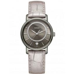 Rado Ladies DiaMaster Diamond Quartz Strap Watch R14064715