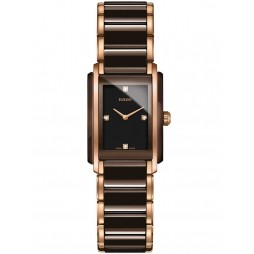 Rado Ladies Integral Two Colour Ceramic Bracelet Watch R20201712