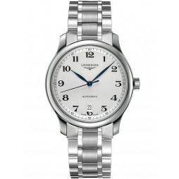 Longines Master White Dial Bracelet Watch L26284786
