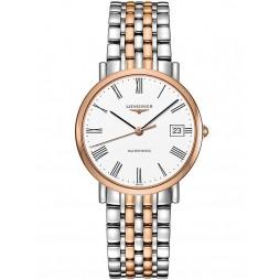 Longines Elegant White Dial Two Colour Bracelet Watch L48105117