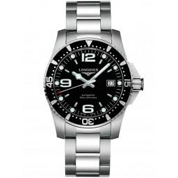 Longines HydroConquest Automatic Black Dial Bracelet Watch L37424566