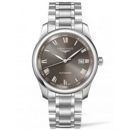 Longines Master Light Grey Dial Bracelet Watch L27934716