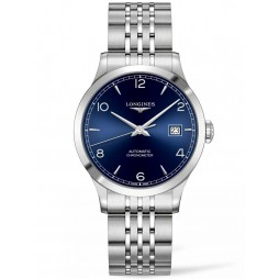 Longines Record Blue Dial Bracelet Watch L28204966