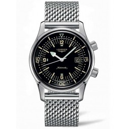 Longines Legend Diver Mesh Bracelet Watch L37744506