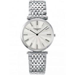 Longines La Grande Classique Silver Dial Bracelet Watch L47554716