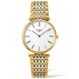 Longines La Grande Classique White Dial Two Colour Bracelet Watch L47552117