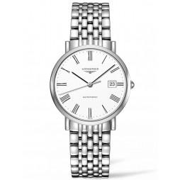 Longines Elegant White Dial Bracelet Watch L48104116