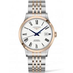 Longines Record Two Colour Bracelet Watch L28215117