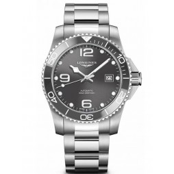 Longines HydroConquest Automatic Grey Dial Bracelet Watch L37814766