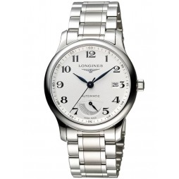 Longines Master Power Reserve Silver Dial Bracelet Watch L27084786