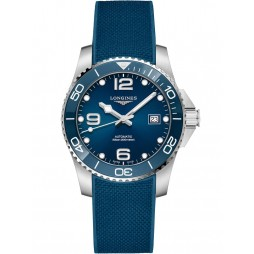 Longines HydroConquest Automatic Blue Dial Rubber Strap Watch L37814969