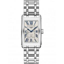 Longines Dolce Vita Automatic Cream Dial Silver Bracelet Watch L57674716