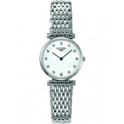 Longines La Grande Classique Diamond Set Mother Of Pearl Dial Bracelet Watch L42094876