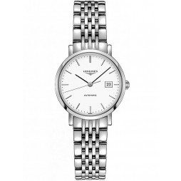 Longines Elegant White Dial Bracelet Watch L43104126