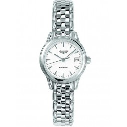 Longines Flagship White Dial Bracelet Watch L42744126