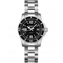 Longines HydroConquest Automatic Black Dial Bracelet Watch L32844566