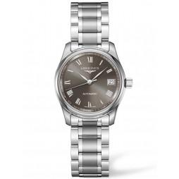 Longines Master Grey Dial Bracelet Watch L22574716