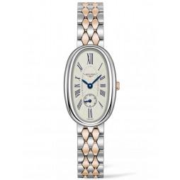 Longines Symphonette Silver Dial Two Colour Bracelet Watch L23065717