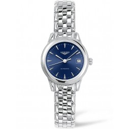 Longines Flagship Blue Dial Bracelet Watch L42744926